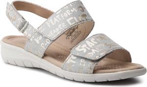 Sandały Caprice w stylu casual na koturnie