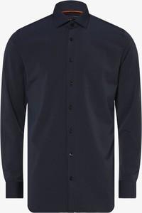 Niebieska koszula Finshley & Harding z długim rękawem w stylu casual