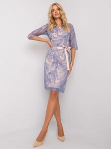 Sukienka Sheandher.pl mini z długim rękawem