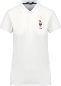 Koszulka polo POLO RALPH LAUREN w stylu casual z krótkim rękawem z dzianiny