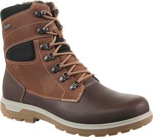 Buty zimowe Ecco w stylu casual sznurowane