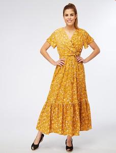 Sukienka My Summer Closet z krótkim rękawem z dekoltem w kształcie litery v