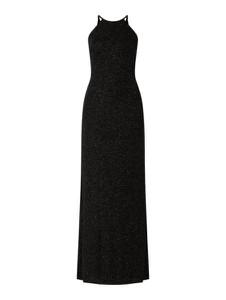 Czarna sukienka Jake*s Cocktail prosta z okrągłym dekoltem