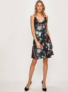 Sukienka Morgan z dekoltem w kształcie litery v z tkaniny