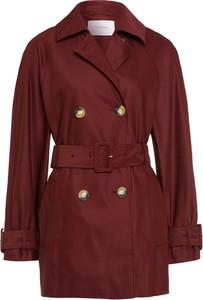 Czerwony płaszcz Ivy & Oak w stylu casual