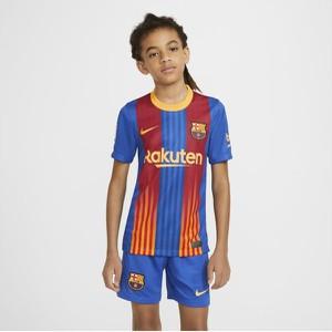 Koszulka dziecięca Nike w paseczki z krótkim rękawem