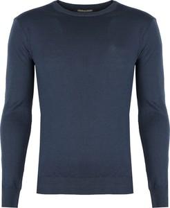 Sweter Roberto Cavalli z wełny w stylu casual