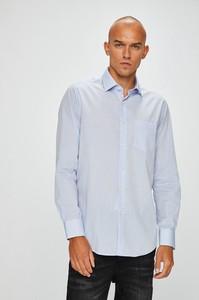 Błękitna koszula Pierre Cardin