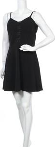 Czarna sukienka Material Girl bez rękawów mini