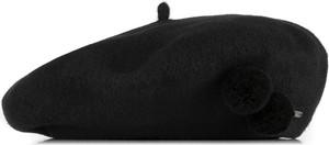 Czarna czapka Wittchen
