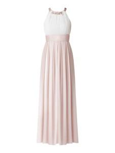 Sukienka Jake*s Cocktail z szyfonu bez rękawów