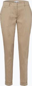 Brązowe spodnie Vg z bawełny