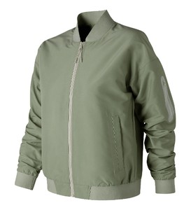 Zielona kurtka New Balance w stylu retro krótka