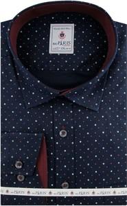 Koszula Big Paris z długim rękawem z tkaniny