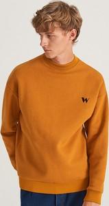 Żółta bluza Reserved z bawełny