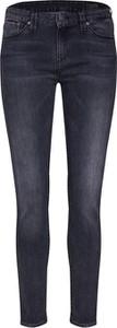Granatowe jeansy Herrlicher w street stylu z jeansu