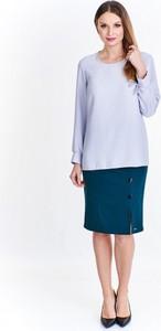 Bluzka Klaudia Styl w street stylu z długim rękawem