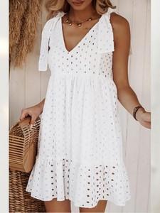 Sukienka Infinityfashion.pl mini kopertowa z dekoltem w kształcie litery v