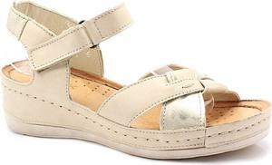 Sandały Wasak z klamrami