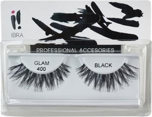 Ibra, para sztucznych rzęs na pasku Glam, 400 Black