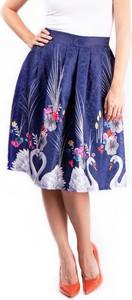 Niebieska spódnica Simpo midi