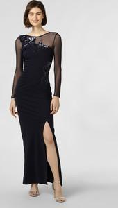 Sukienka Lipsy maxi z okrągłym dekoltem prosta