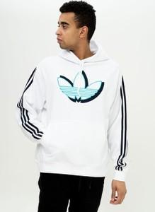 Bluza Adidas Originals z bawełny z nadrukiem
