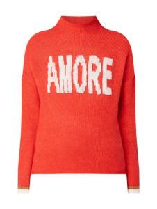 Pomarańczowy sweter Only w stylu casual