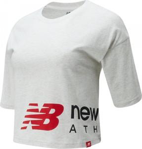 Bluzka New Balance z bawełny