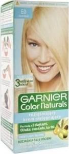Garnier, Color Naturals, farba do włosów, E01 super Blond