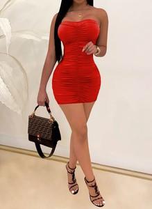 Sukienka Arilook dopasowana mini