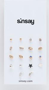 Sinsay - Minimalistyczne kolczyki - Wielobarwny