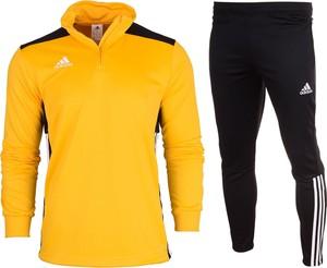 Żółty dres Adidas