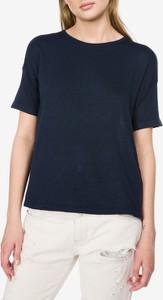 Bluzka Vero Moda z bawełny z krótkim rękawem
