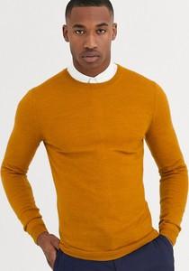 Pomarańczowy sweter Asos