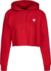 Czerwona bluza Guess w stylu casual krótka
