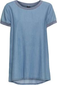 Błękitna bluzka bonprix BODYFLIRT