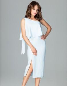 Niebieska sukienka LENITIF