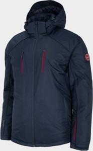 Niebieska kurtka Outhorn w sportowym stylu krótka