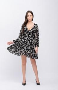 Sukienka Justmelove mini z dekoltem w kształcie litery v