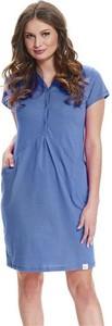Doctornap Koszula ciążowa i do karmienia 9452 royal blue