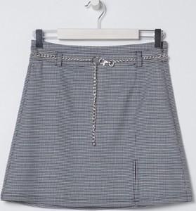 Granatowa spódnica Sinsay mini