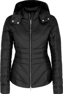 Czarna kurtka Liu-Jo krótka w stylu casual