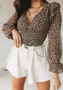 Brązowa bluzka Latika