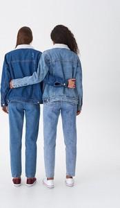 Granatowa kurtka House z jeansu