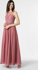 Sukienka Laona z dekoltem w kształcie litery v maxi bez rękawów