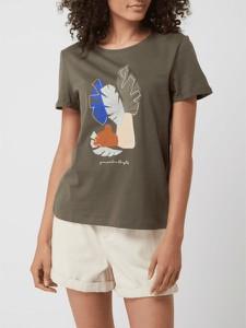 T-shirt Tom Tailor z krótkim rękawem z okrągłym dekoltem