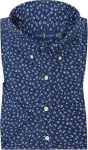 Koszula POLO RALPH LAUREN z bawełny z kołnierzykiem button down z nadrukiem