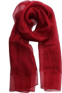 Czerwony szalik iBlues