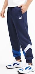 Spodnie sportowe Puma z bawełny z nadrukiem